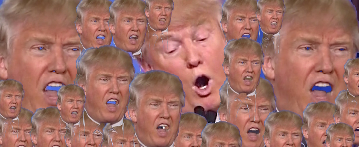 crazy trump faces