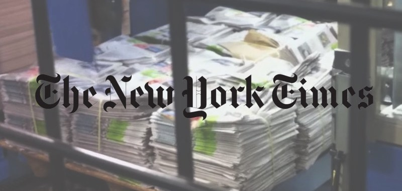newspaper new york times 01