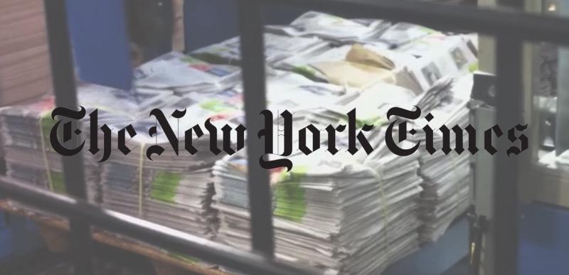 newspaper new york times 01