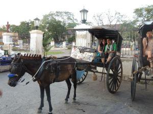 Kalesa ride with E