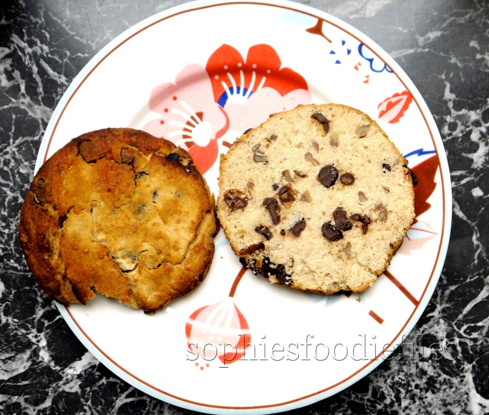 Sophie's healthy & tasty gluten free & egg free scones with chocolate & pecans (2/6)