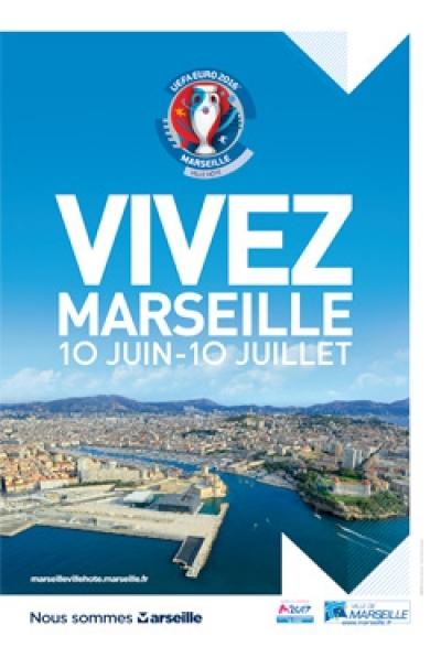 UEFA EURO 2016 - MARSEILLE VILLE HÔTE