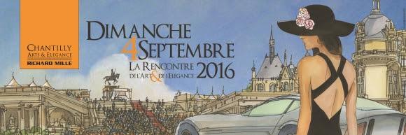 CHANTILLY - RENCONTRE ENTRE L'ART & L'ÉLÉGANCE - PREMIÈRE MONDIALE