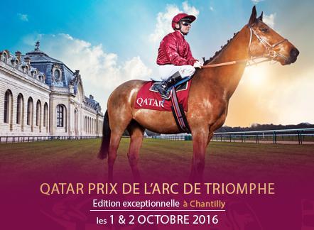 QATAR PRIX DE L'ARC DE TRIOMPHE - HIPPODROME DE CHANTILLY