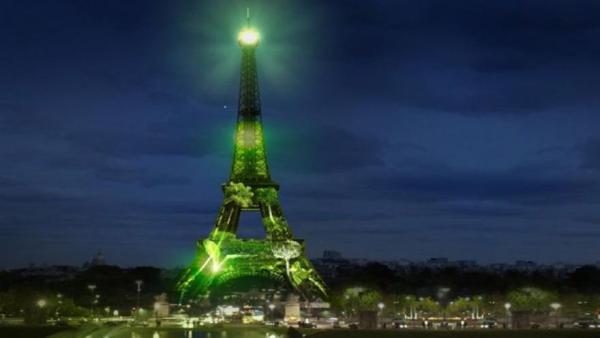 COP21 - PARIS S'ILLUMINE DE VERT