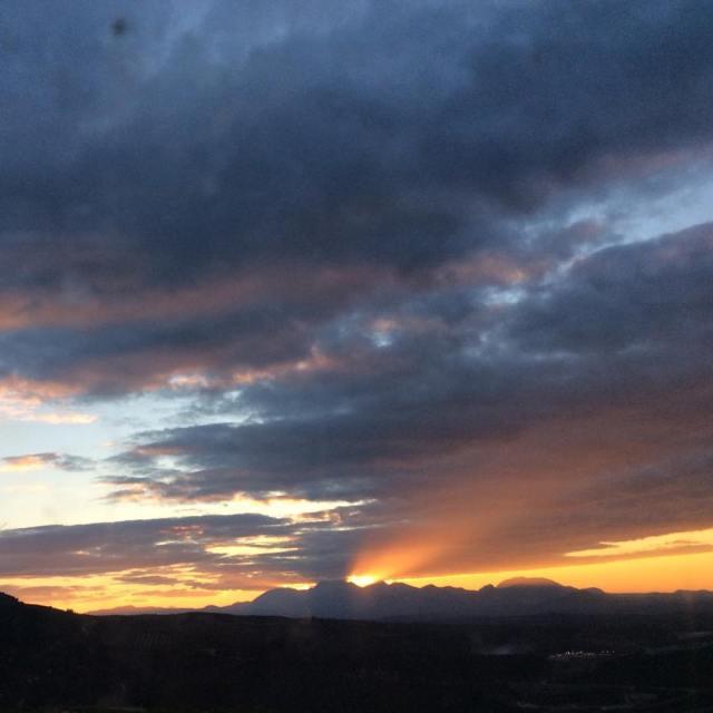 Sierra Mgina desde la Sierra de Cazorla bluemonday jaen sierramaginahellip