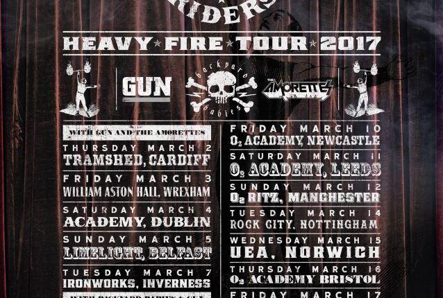 BLACK STAR RIDERS To Release 'Heavy Fire' Album