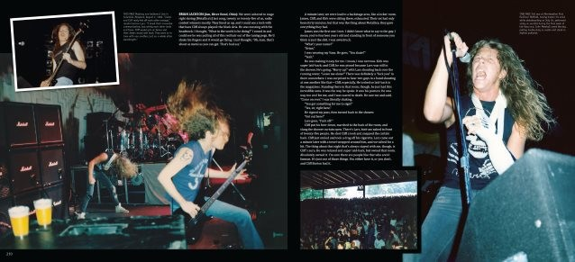 Video: CLIFF BURTON's Father Receives His Copy Of 'Metallica: Back To The Front' Book