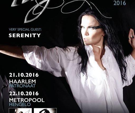 Video: TARJA TURUNEN Performs In Haarlem, The Netherlands
