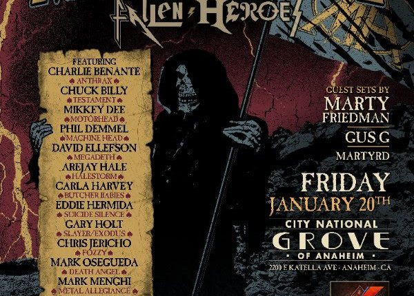 JUDAS PRIEST, SCORPIONS, SLAYER, MEGADETH, ALICE IN CHAINS Members Pay Tribute To 'Fallen Heroes' With METAL ALLEGIANCE (Video)