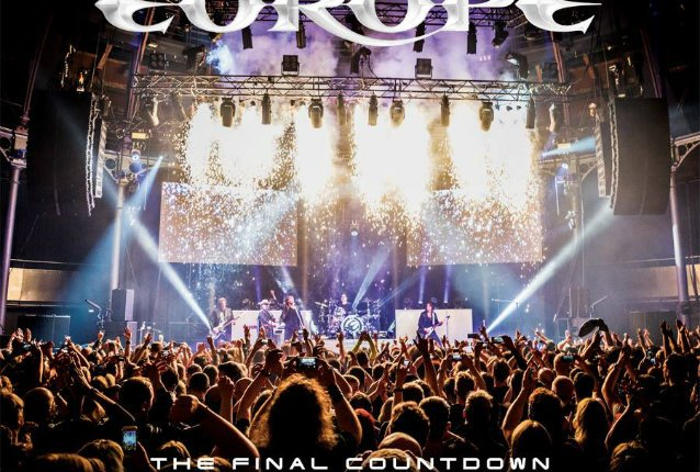 EUROPE To Release 'The Final Countdown 30th Anniversary Show – Live At The Roundhouse' In July