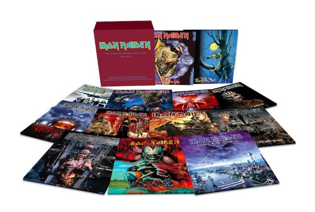 IRON MAIDEN: Trailer For Next Series Of Album Reissues