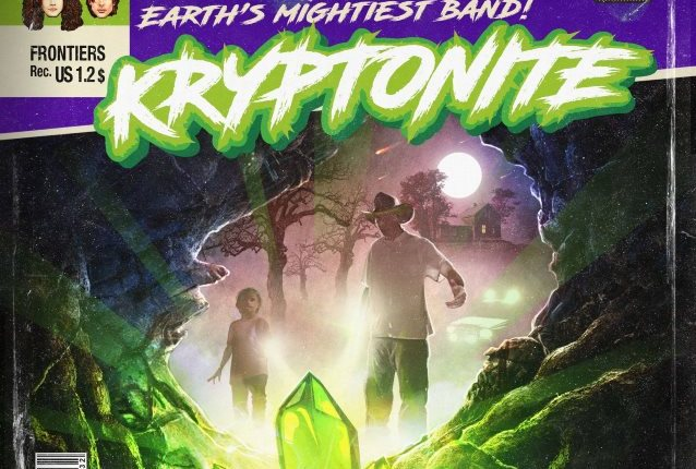 KRYPTONITE Feat. KING DIAMOND, THE POODLES Members: 'Chasing Fire' Video