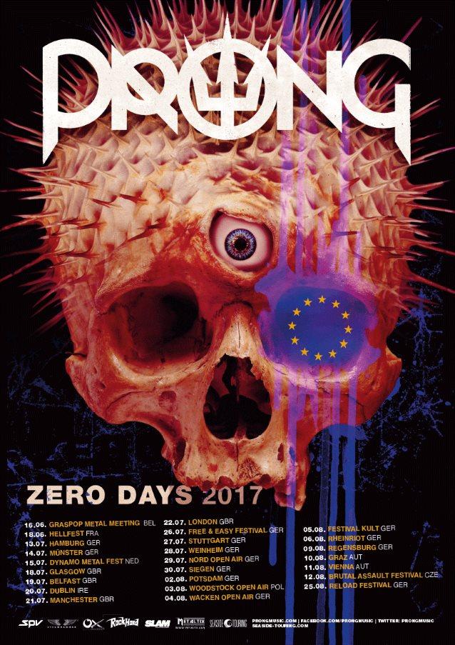 PRONG: 'Zero Days' Album Details Revealed