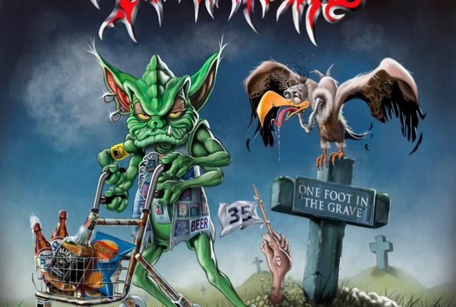 TANKARD Releases Video For 'One Foot In The Grave' Title Track