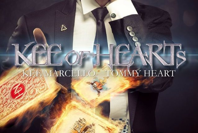 KEE OF HEARTS Feat. Former EUROPE Guitarist KEE MARCELLO, FAIR WARNING Singer TOMMY HEART: 'A New Dimension' Video