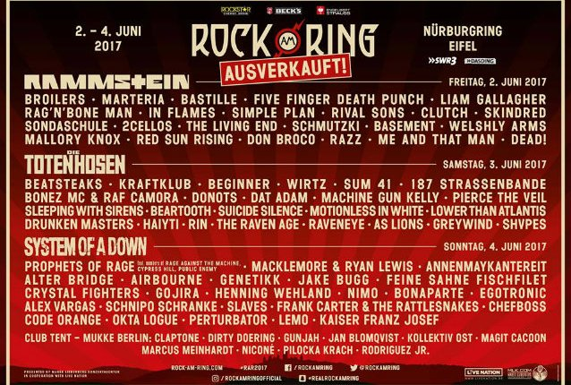 German Festival ROCK AM RING Evacuated Over 'Terrorist Threat'