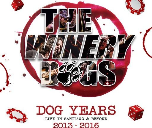 THE WINERY DOGS: 'Elevate' Performance Clip From 'Dog Years: Live In Santiago & Beyond 2013-2016'
