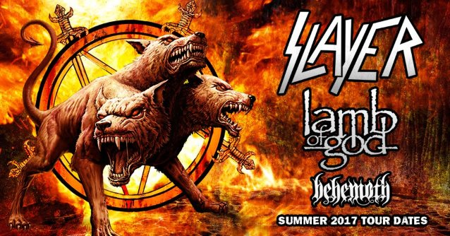 LAMB OF GOD Frontman On Opening For SLAYER: 'You Have To Be Confident And Hit It Really Hard'