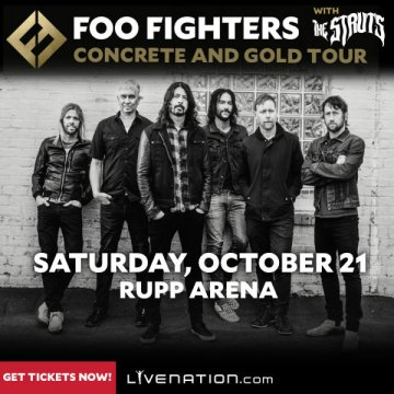 FOO FIGHTERS: Lexington, Kentucky Concert Postponed Due To Family Emergency