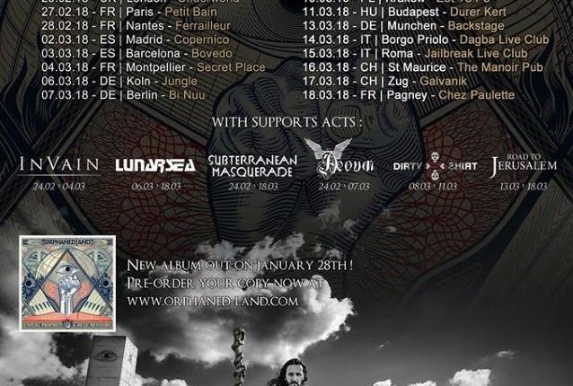 ORPHANED LAND: Teaser For 'Unsung Prophets & Dead Messiahs' Album