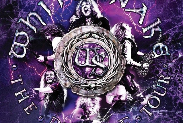 WHITESNAKE: Second Video Trailer For 'The Purple Tour (Live)' CD, DVD, Blu-Ray