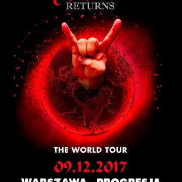 Watch Quality Footage Of RONNIE JAMES DIO Hologram Performing In Warsaw, Poland
