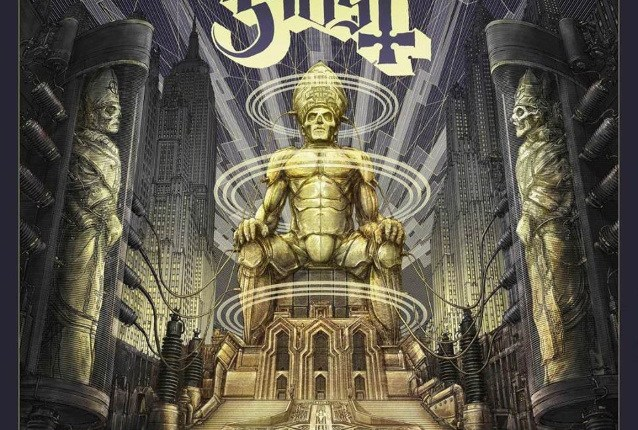 GHOST To Release 'Ceremony And Devotion' Live Album; Cover Artwork Unveiled