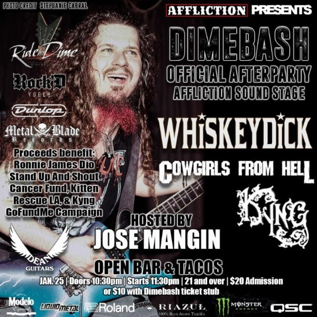 PANTERA, SUICIDAL TENDENCIES, KING'S X Members To Pay Tribute To DIMEBAG At This Year's 'Dimebash'
