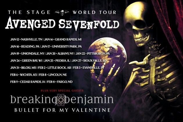 Watch AVENGED SEVENFOLD Perform In Reading, Pennsylvania