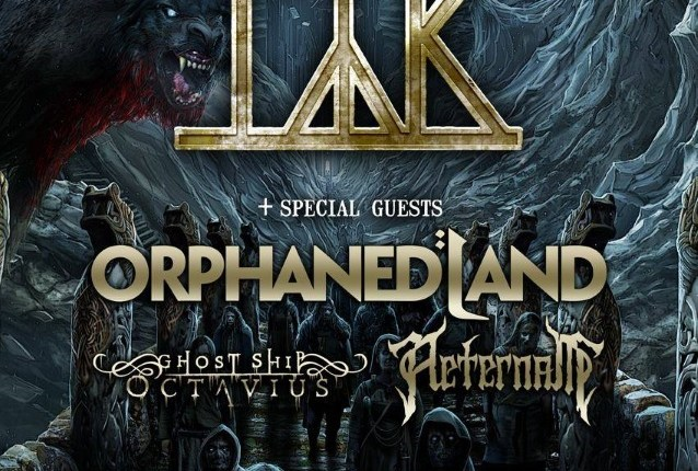 TÝR Announces Spring 2018 North American Tour With ORPHANED LAND
