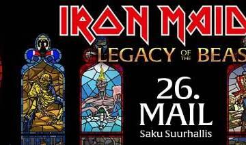 IRON MAIDEN Kicks Off 'Legacy Of The Beast' World Tour In Tallinn, Estonia (Video)
