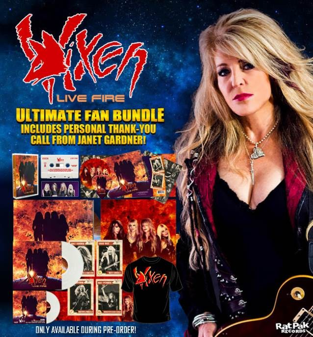 VIXEN Releases New Acoustic Version Of 'Edge Of A Broken Heart' From 'Live Fire' Album