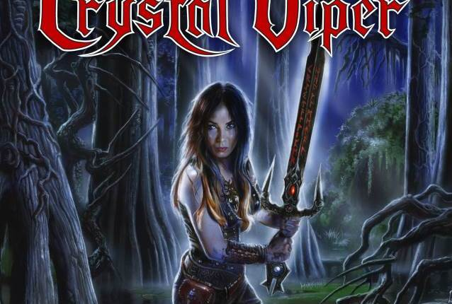 CRYSTAL VIPER To Release 'At The Edge Of Time' EP
