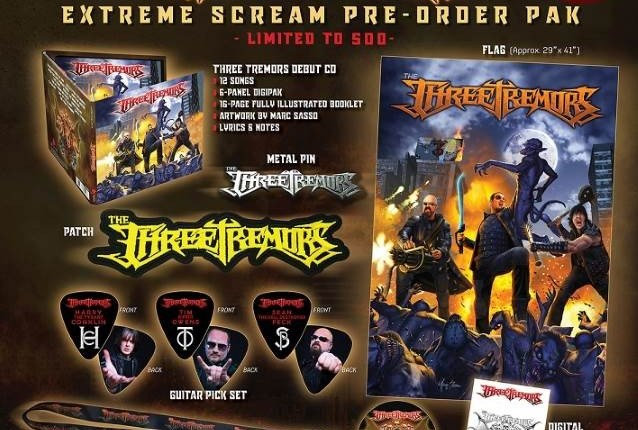 TIM 'RIPPER' OWENS, SEAN PECK And HARRY CONKLIN Are THE THREE TREMORS: Debut Album Due In The Fall