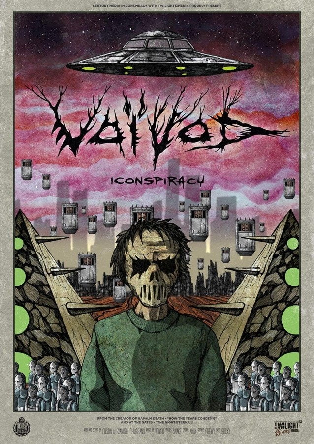 VOIVOD Releases Music Video For New Single 'Iconspiracy'