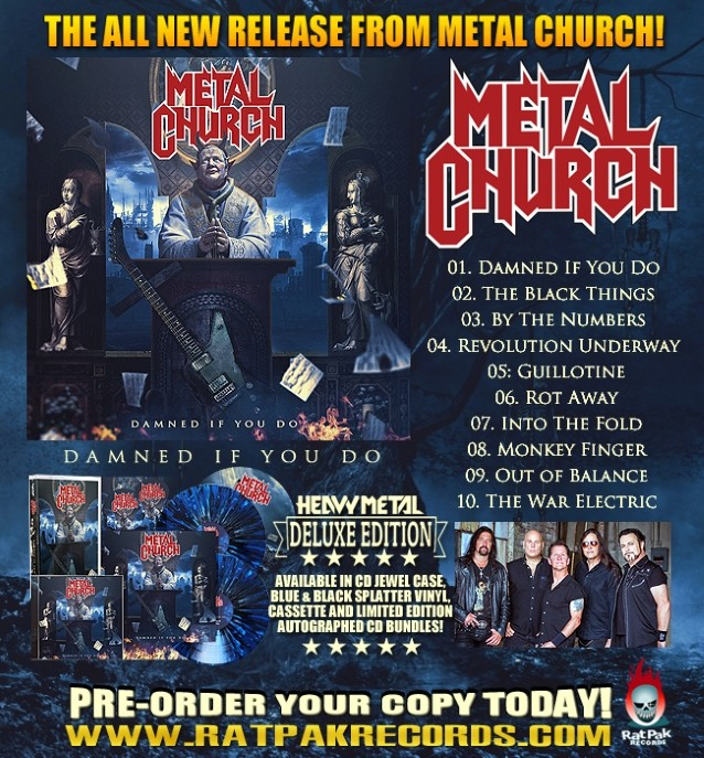 Listen To New METAL CHURCH Song 'Out Of Balance'