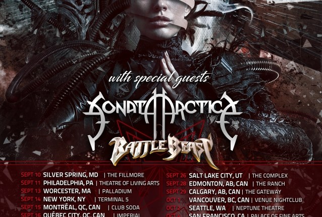 KAMELOT Announces Fall 2019 North American Tour With SONATA ARCTICA And BATTLE BEAST