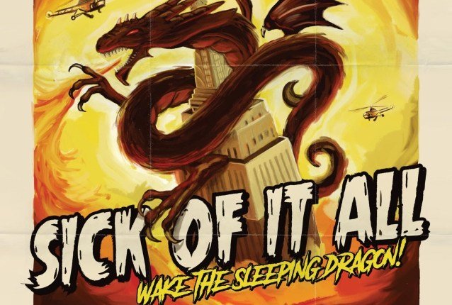 SICK OF IT ALL: 'Wake The Sleeping Dragon!' Lyric Video