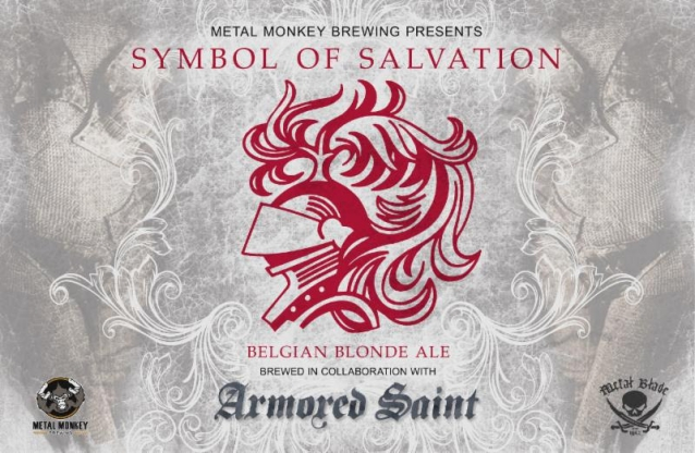 ARMORED SAINT And METAL MONKEY BREWING Join Forces For 'Symbol Of Salvation' Belgian Blonde Ale