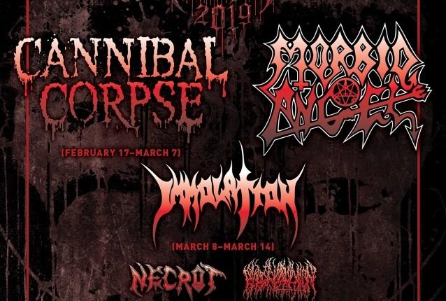CANNIBAL CORPSE And MORBID ANGEL To Headline 2019 'Decibel Magazine Tour'