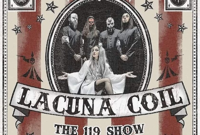 LACUNA COIL: 'The House Of Shame' Performance Clip From 'The 119 Show – Live In London'