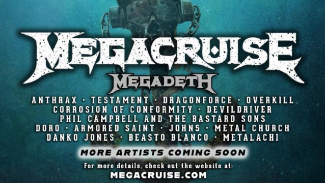 MEGADETH's First-Ever 'Megacruise': More Details Revealed