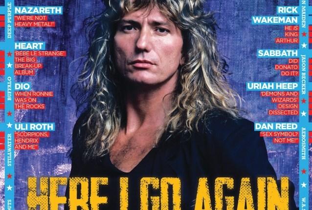 WHITESNAKE's DAVID COVERDALE: I Was Three Million In Debt Before '1987' Album
