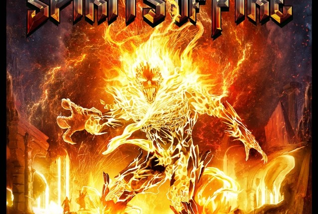 SPIRITS OF FIRE Feat. TIM 'RIPPER' OWENS, CHRIS CAFFERY, STEVE DIGIORGIO And MARK ZONDER: Debut Album Details