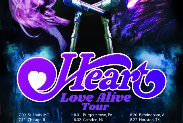 HEART Returns To The Road In 2019 For Massive 'Love Alive' Summer Tour