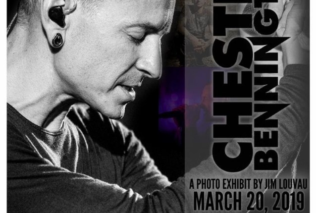 Celebrating The Life Of CHESTER BENNINGTON: A Photo Exhibit By JIM LOUVAU