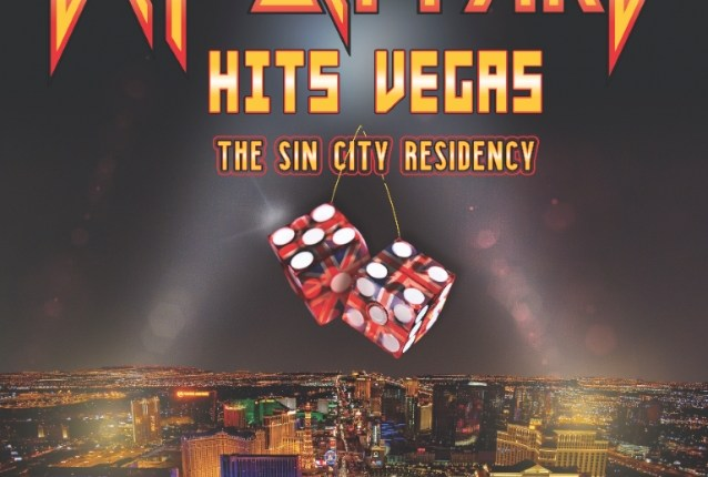 DEF LEPPARD Announces Second Las Vegas Residency; 12 Shows To Take Place In August/September