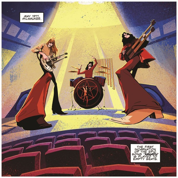 RUSH To Release 'A Farewell To Kings' Graphic Novel