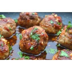 Small Crop Of Asian Turkey Meatballs